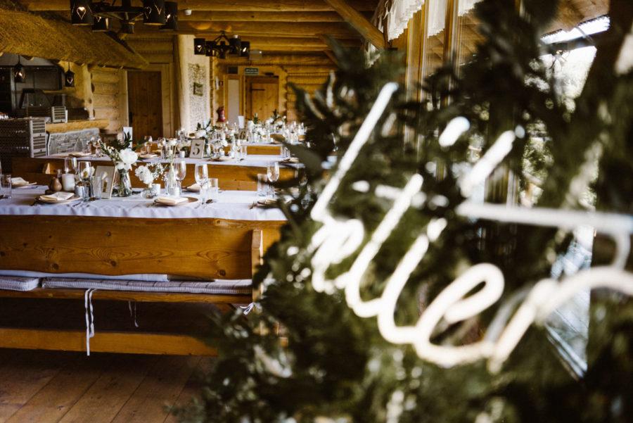 neonowe napisy na wesele