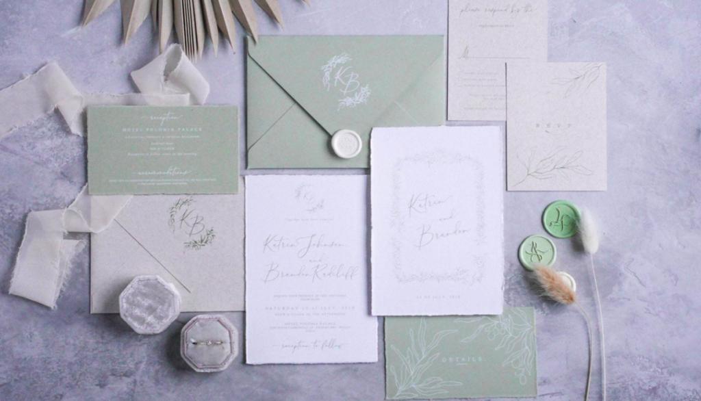 wesele rustykalne zaproszenia