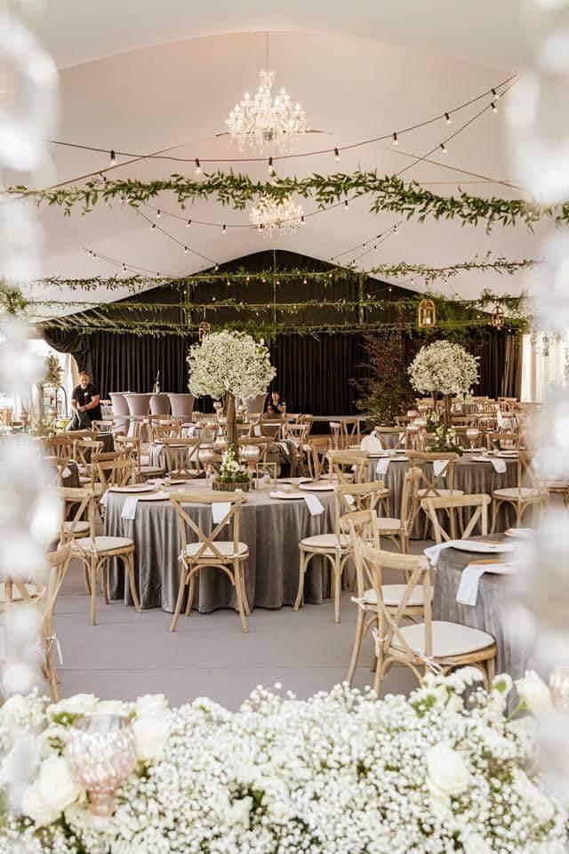 aranżacja światłem na wesele